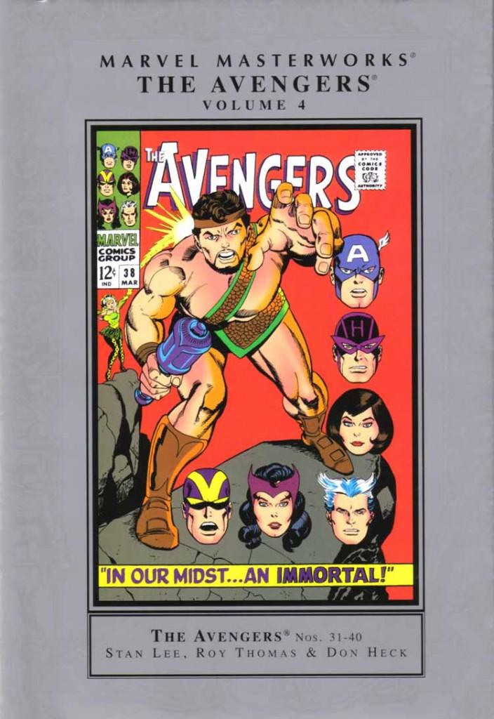 Marvel Masterworks: The Avengers Volume 4