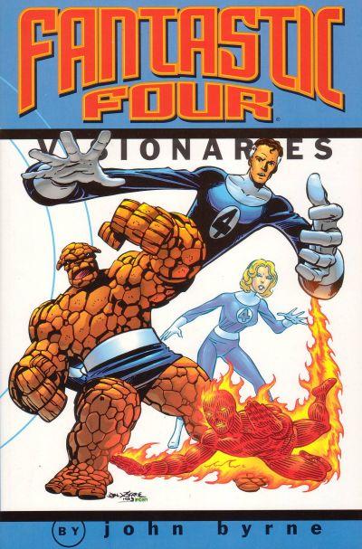 Fantastic Four Visionaries by John Byrne Volume 1