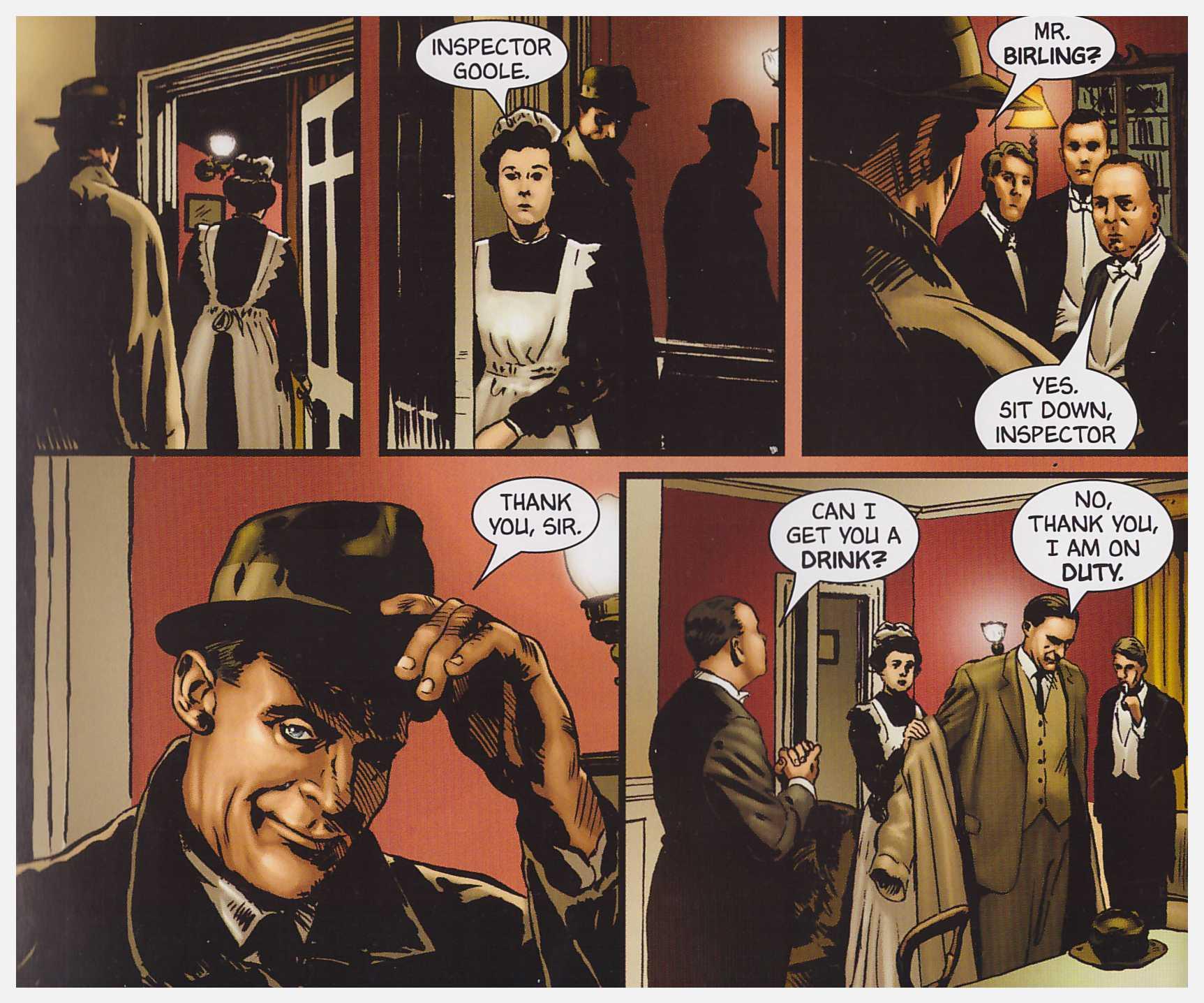 An Inspector Calls graphic novel review