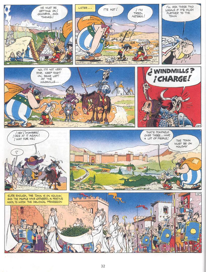 Asterix in Spain review