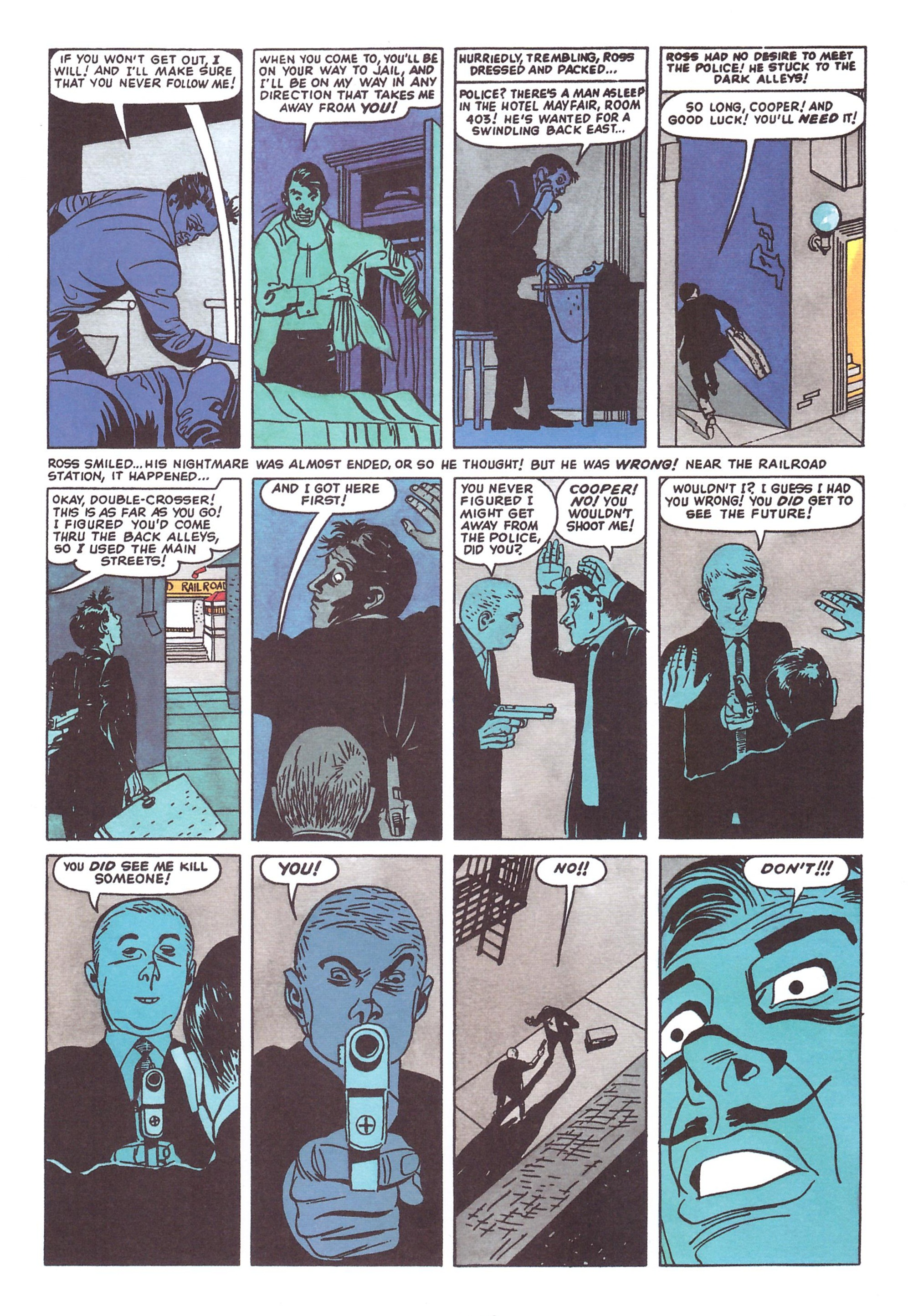 B. Krigstein Comics review
