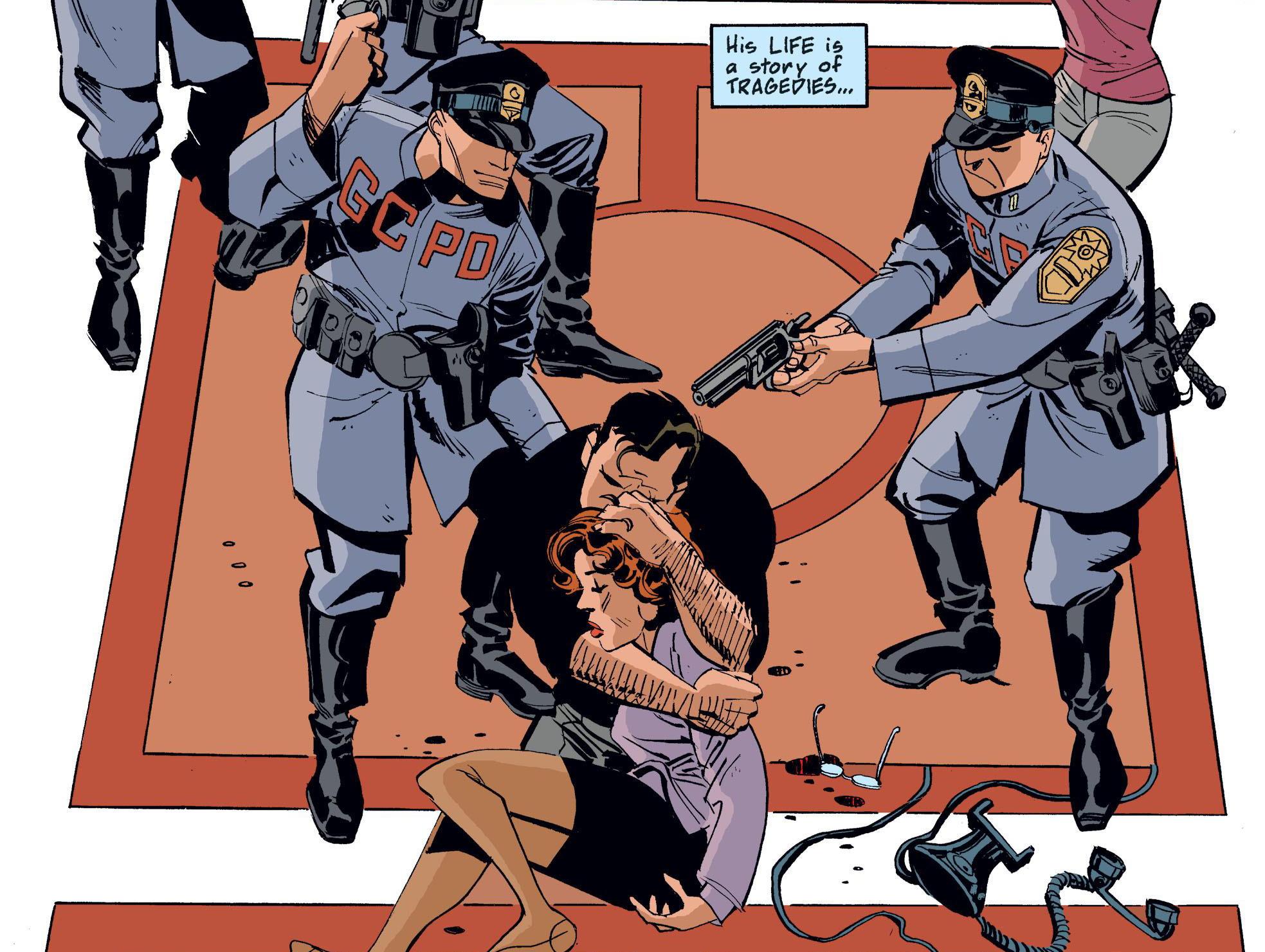 Batman Bruce Wayne Murderer review
