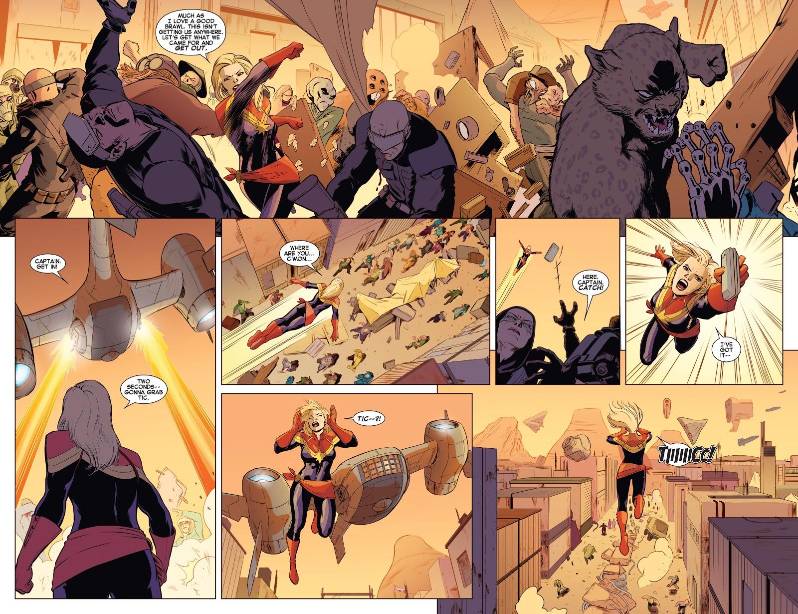 Captain Marvel Higher Faster review
