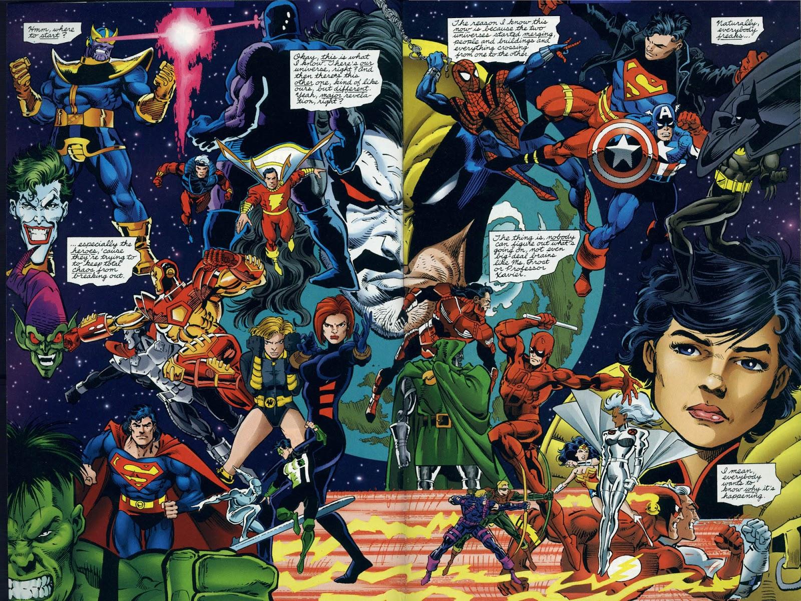 DC Versus Marvel review