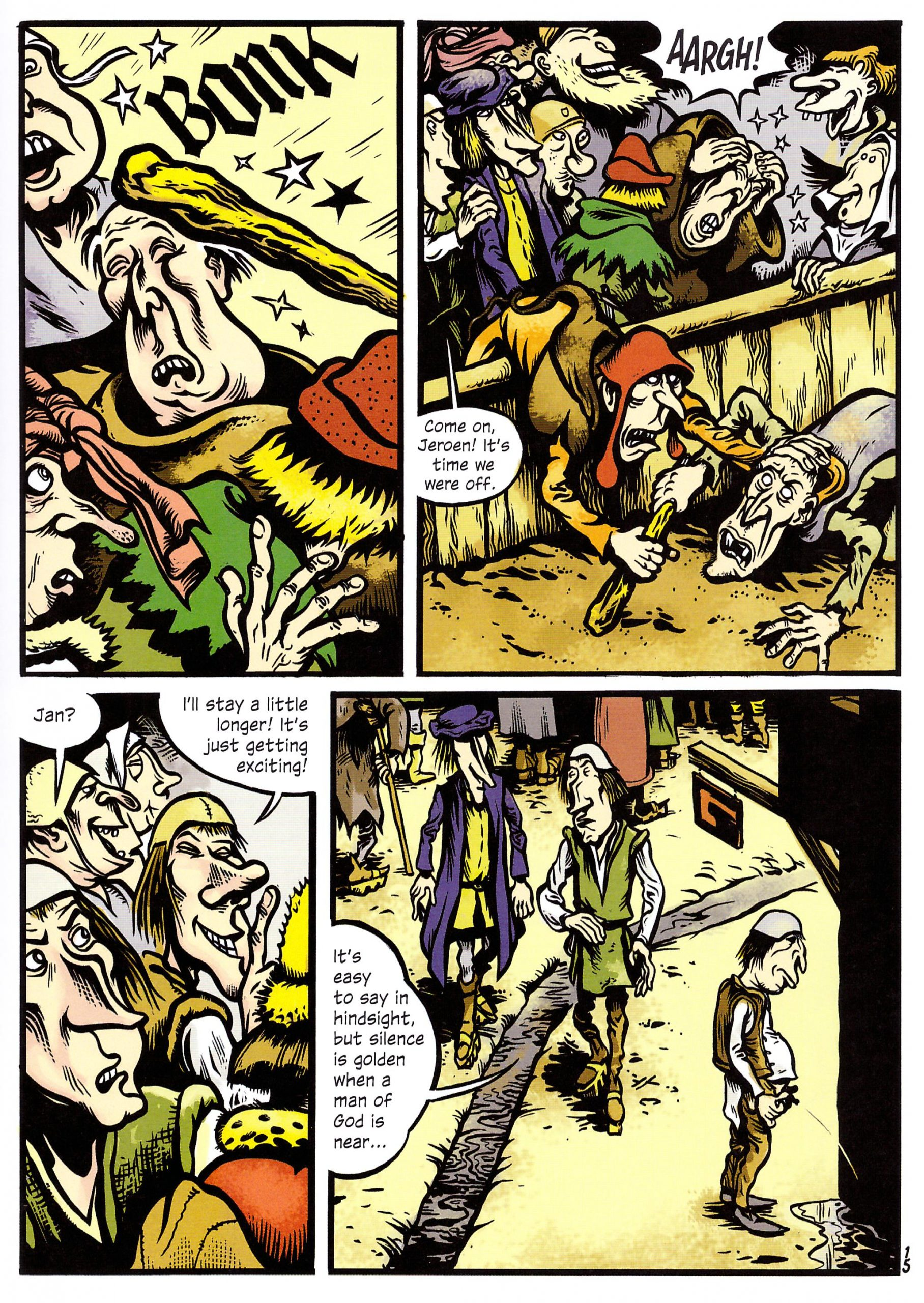 Hieronymus graphic novel review