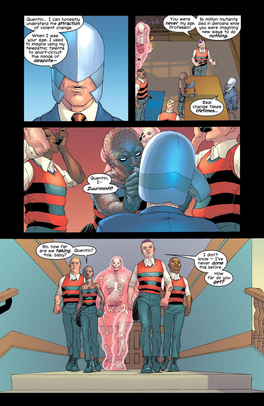 New X-Men Riot at Xavier's review
