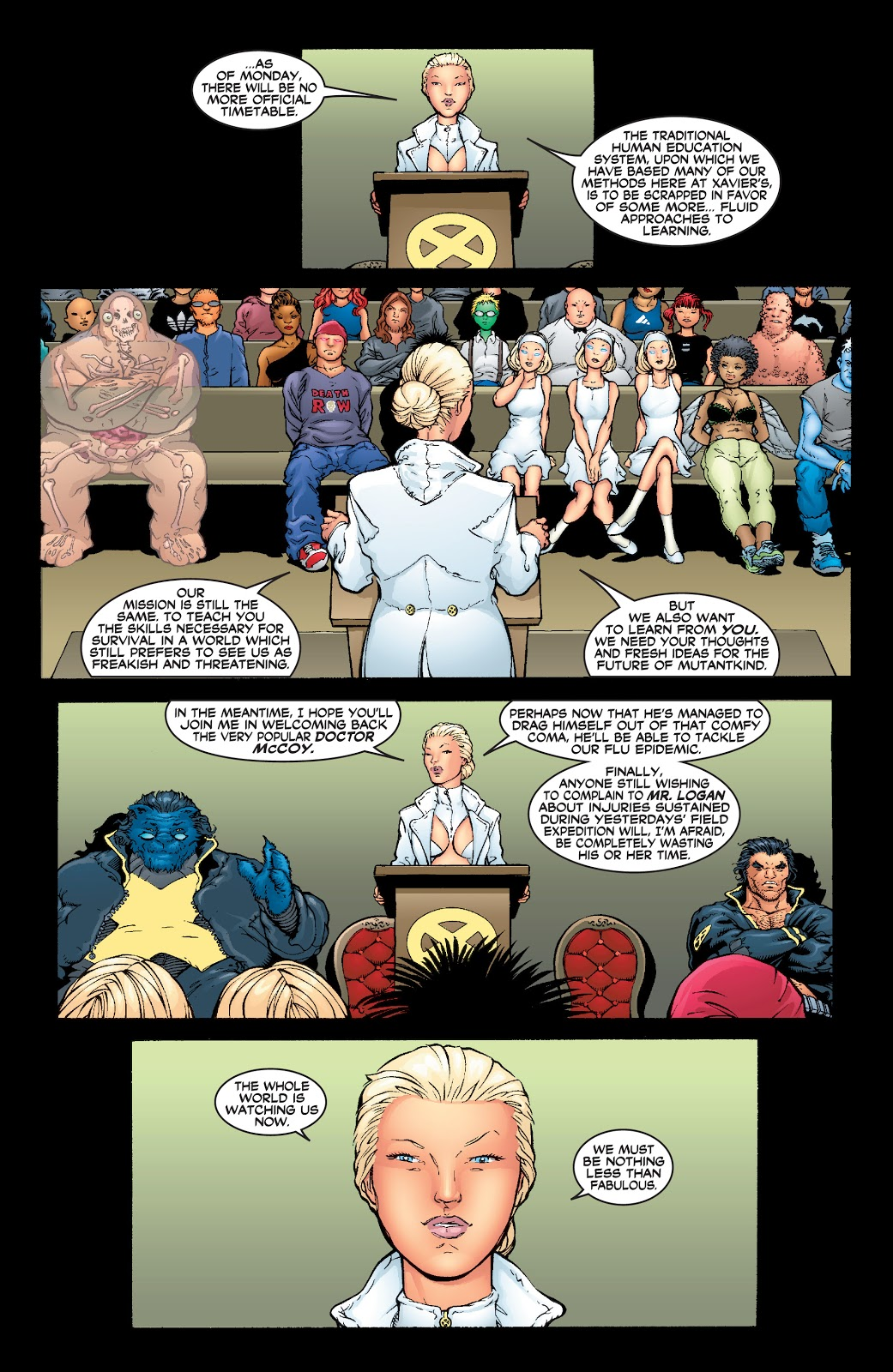 New X-Men by Grant Morrison Ultimate Collection Book One review
