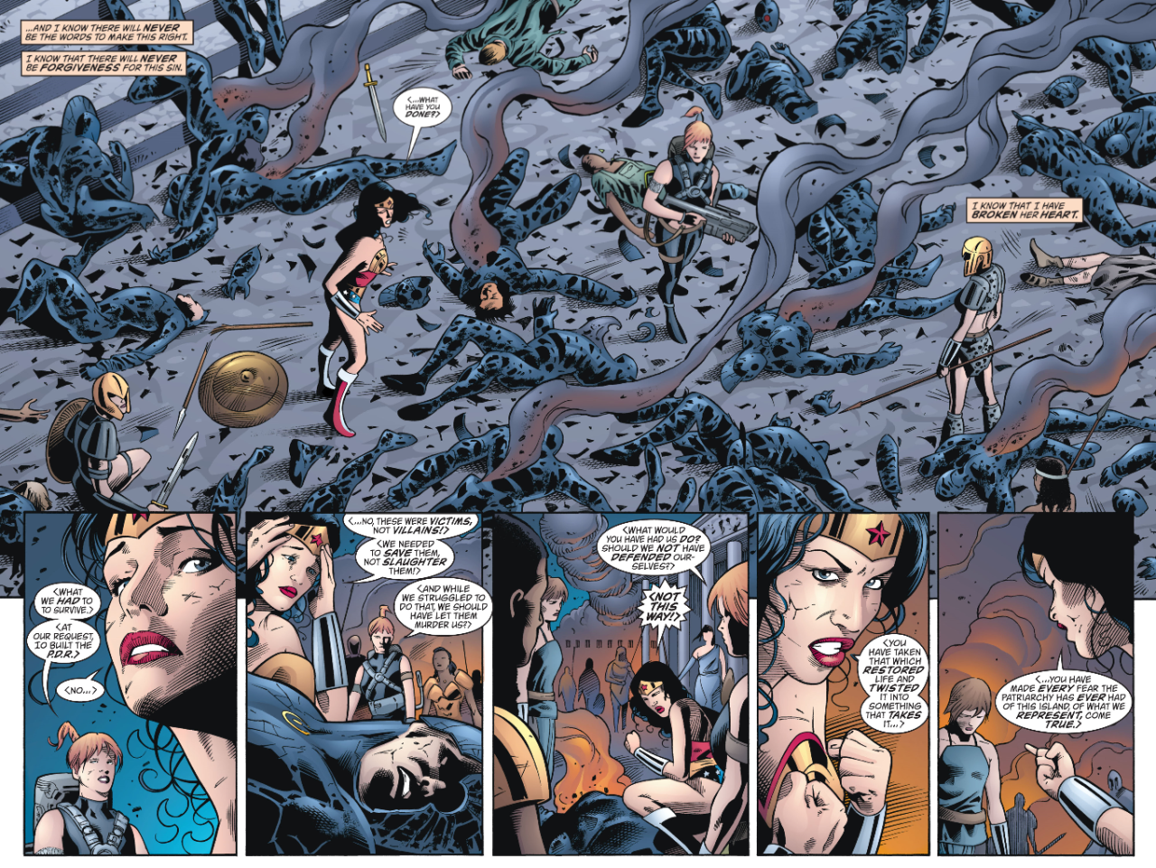 Wonder Woman Mission's End review