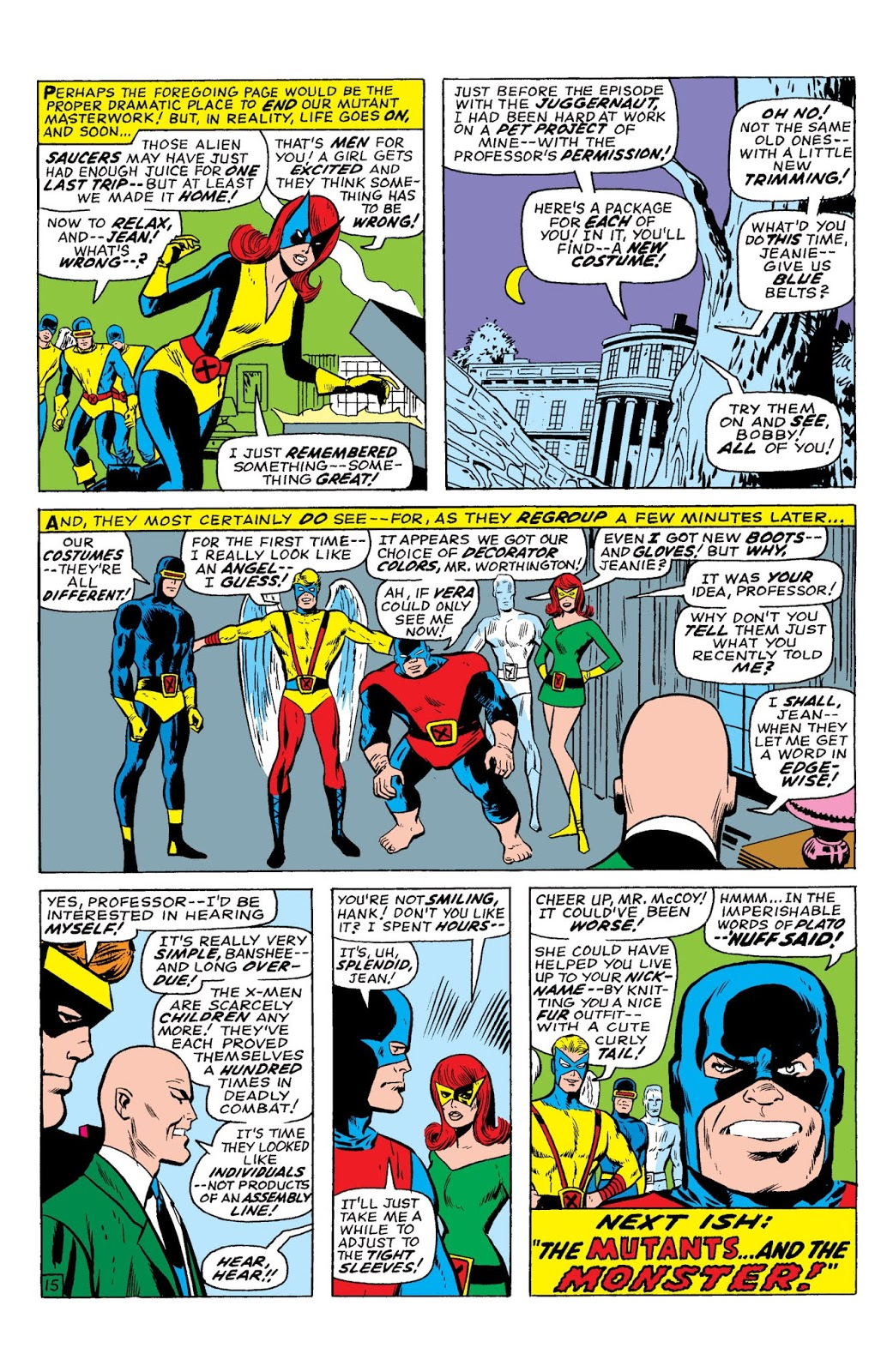Marvel Masterworks X-Men vol 4 review