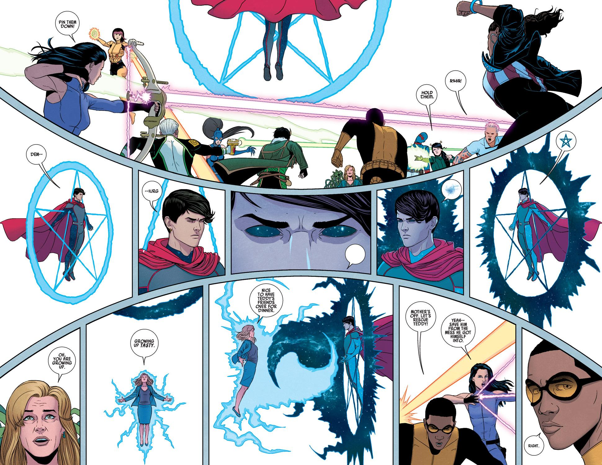 Young Avengers Mic-Drop at the Edge review