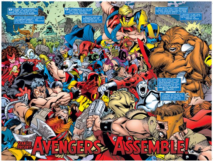 Avengers Forever review