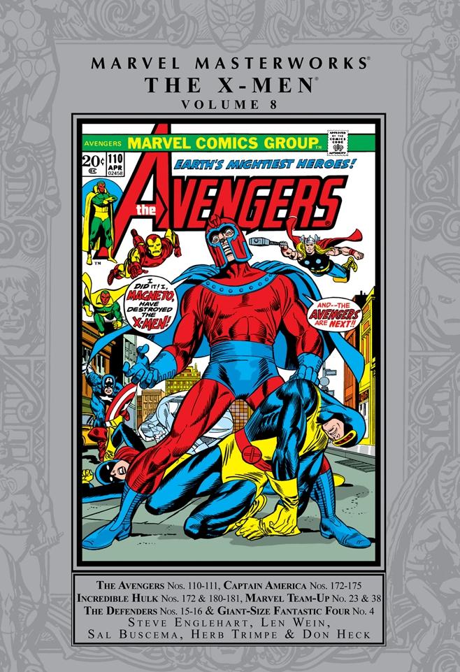 Marvel Masterworks: X-Men Volume 8