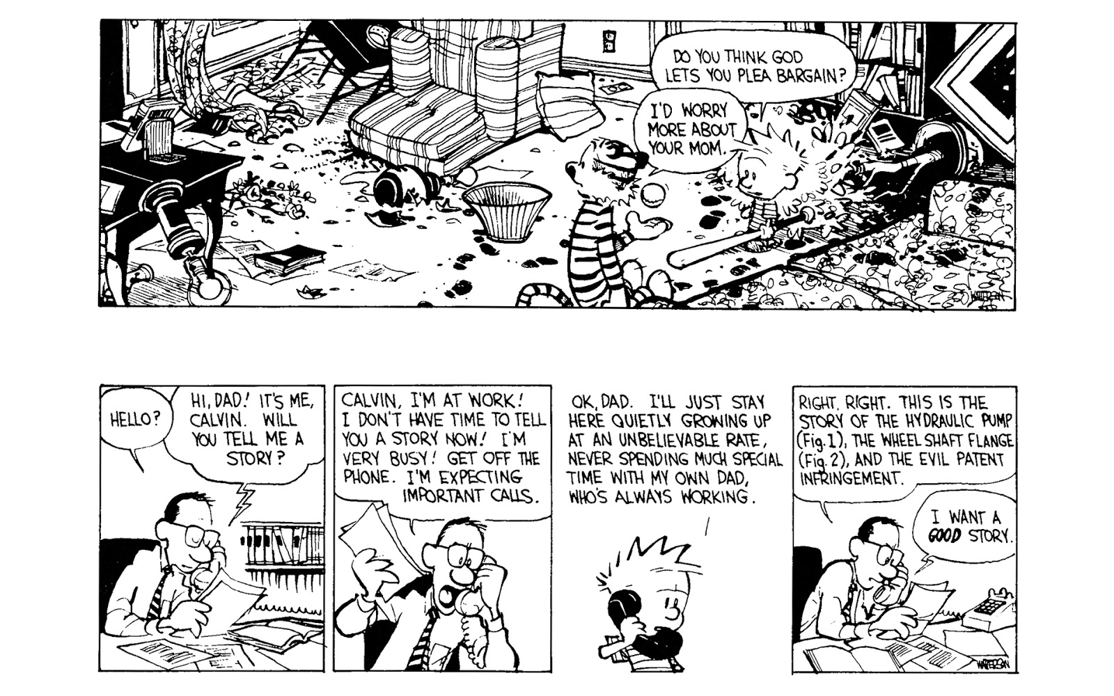 Calvin and Hobbes Revenge of the Baby Sat review