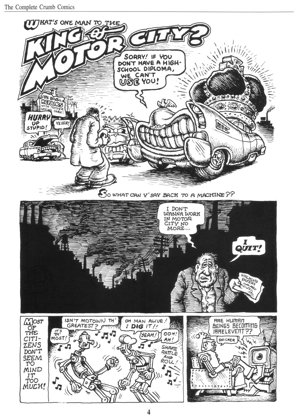 Complete Crumb Comics Vol 6 review