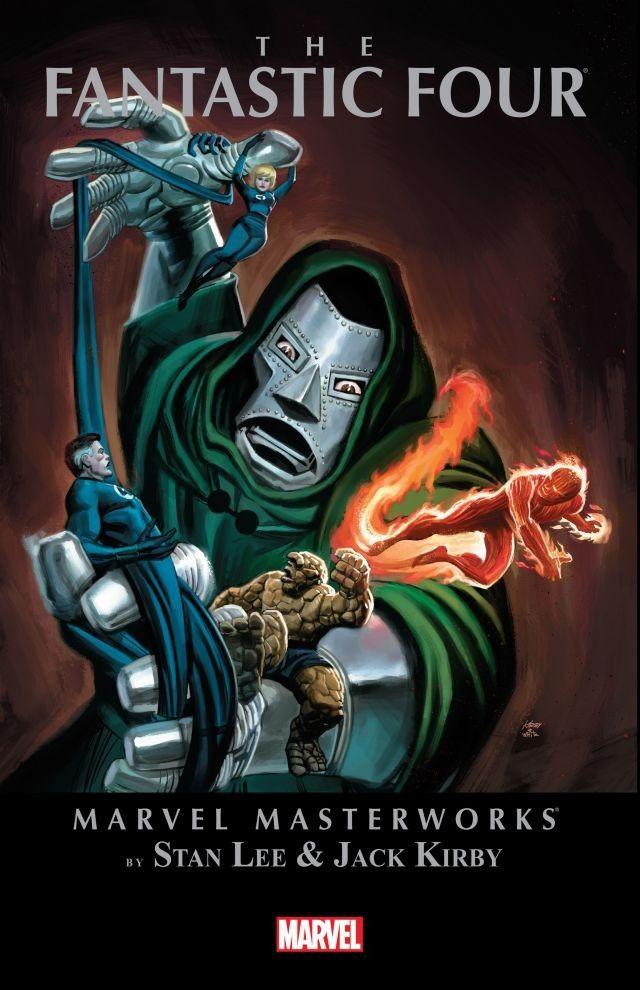 Marvel Masterworks: The Fantastic Four Volume 4
