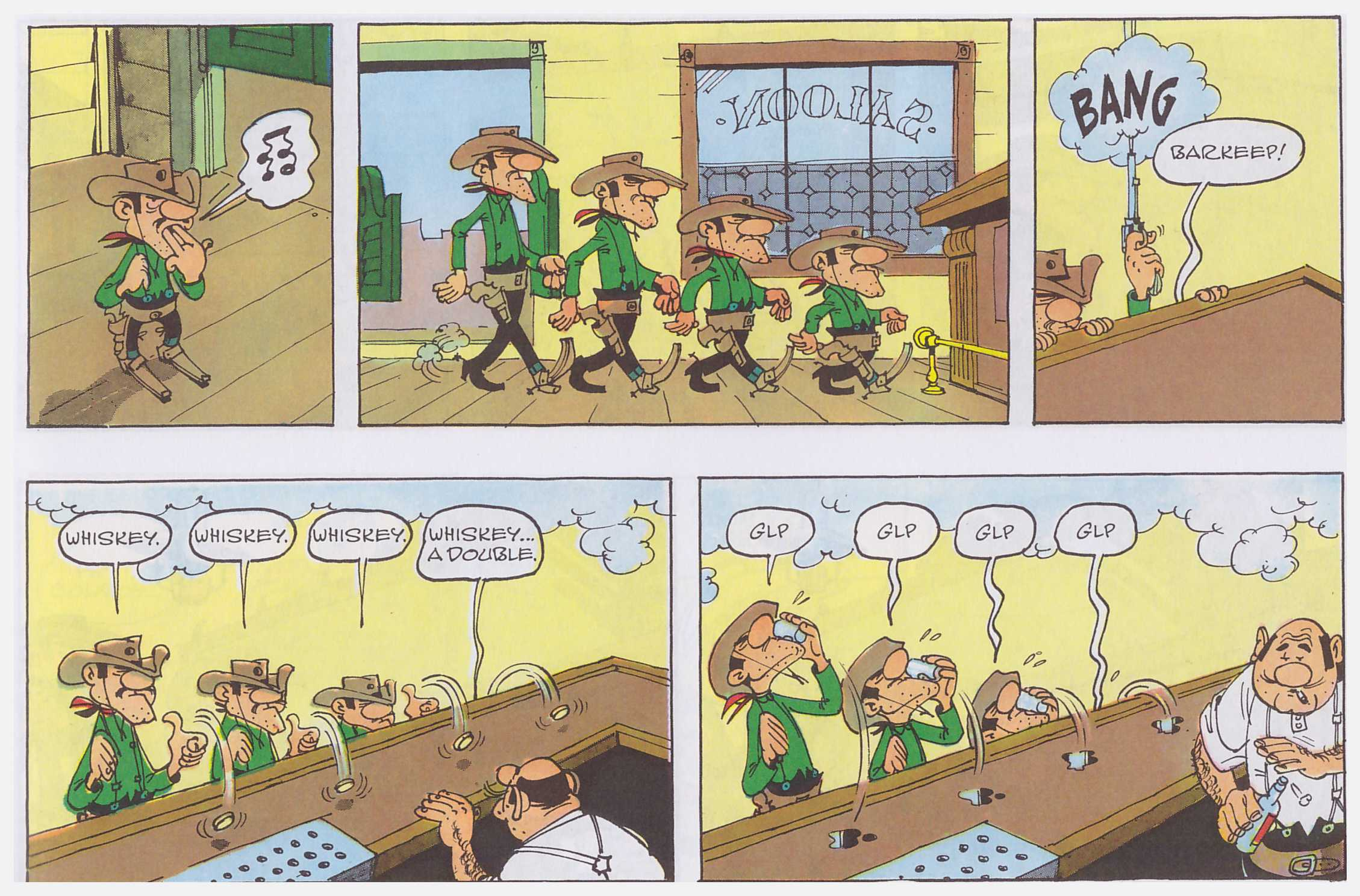 Lucky Luke Outlaws review
