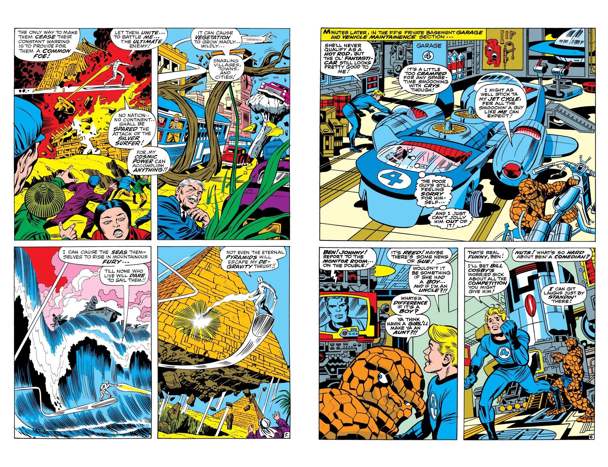 Marvel Masterworks Fantastic Four Vol 8 review