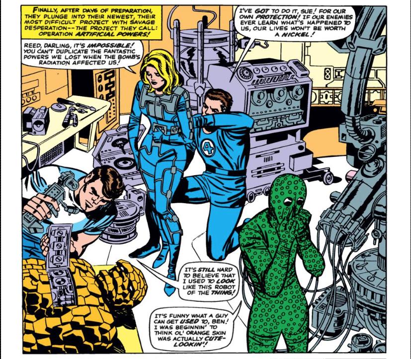 Marvel Masterworks Fantastic Four vol 4 review