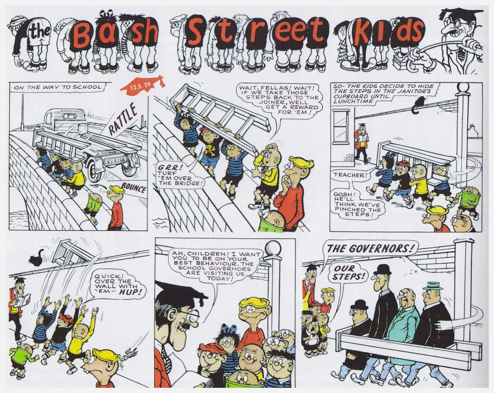 The Beano and The Dandy Focus on the Fifties review