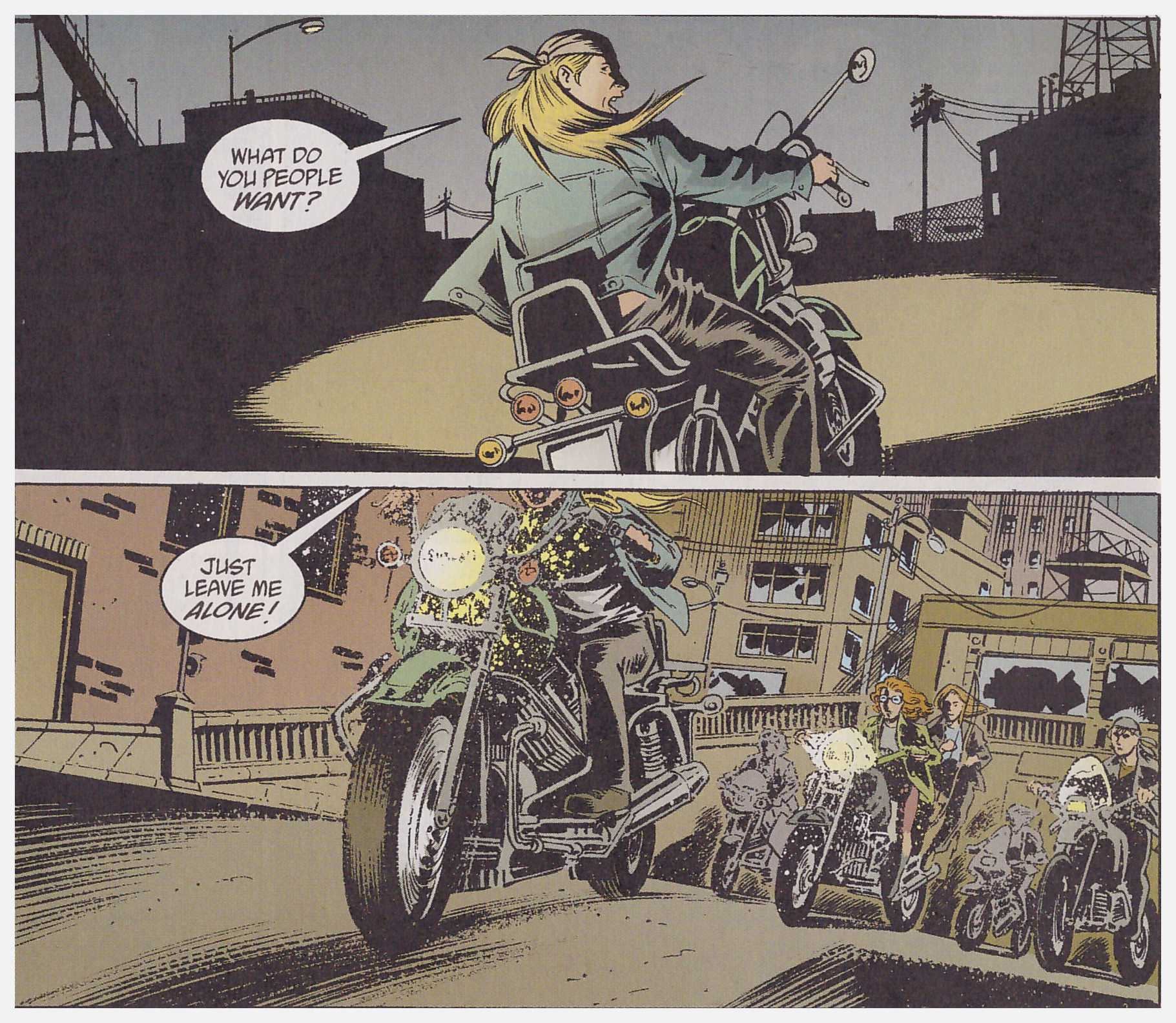 Y The Last Man Cycles review