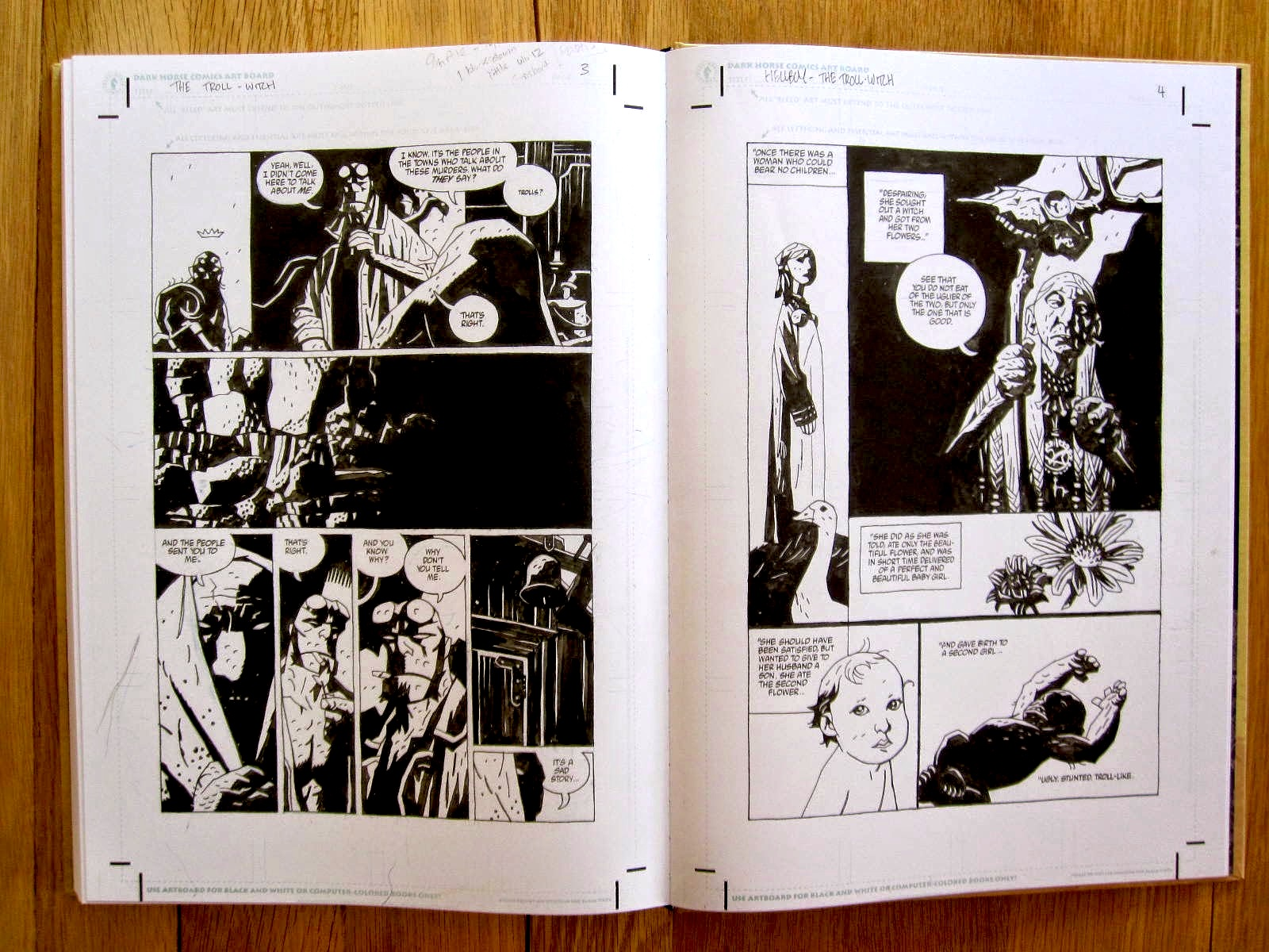 Hellboy Artist's Edition review
