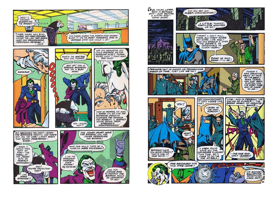 Batman Strange Apparitions review