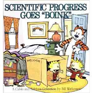 """Scientific Progress Goes """"Boink"""": A Calvin and Hobbes Collection"""
