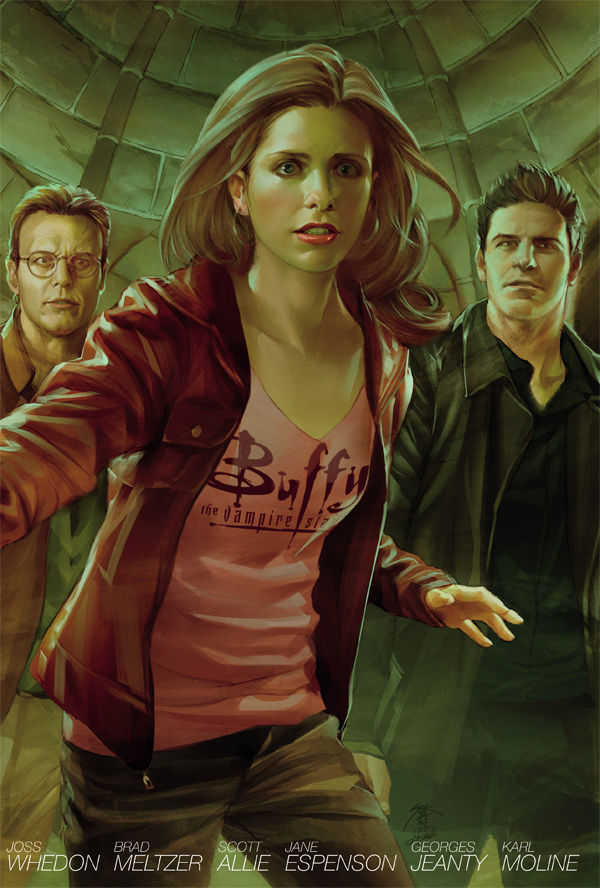 Buffy the Vampire Slayer Season 8 Library Edition, Volume 4