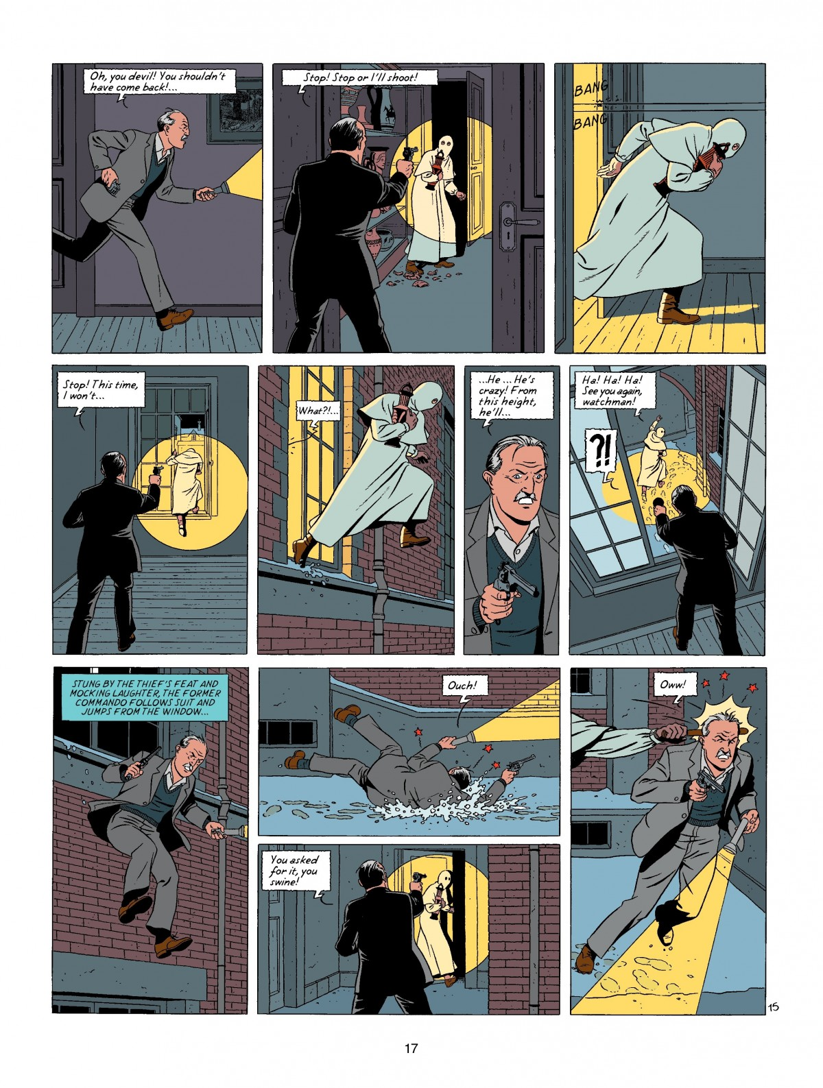 Blake and Mortimer Oath of the Five Lords review
