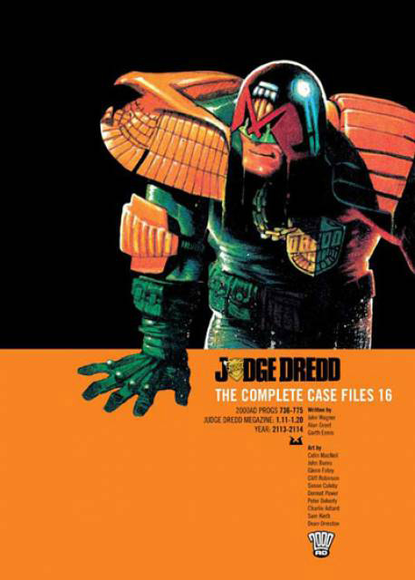 Judge Dredd: The Complete Case Files 16