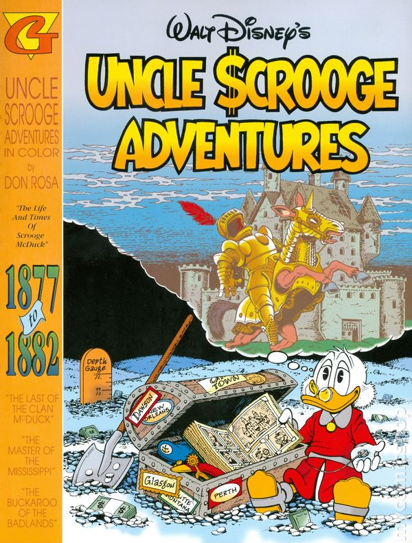 Uncle Scrooge Adventures: The Life and Times of Scrooge McDuck 1877 to 1882