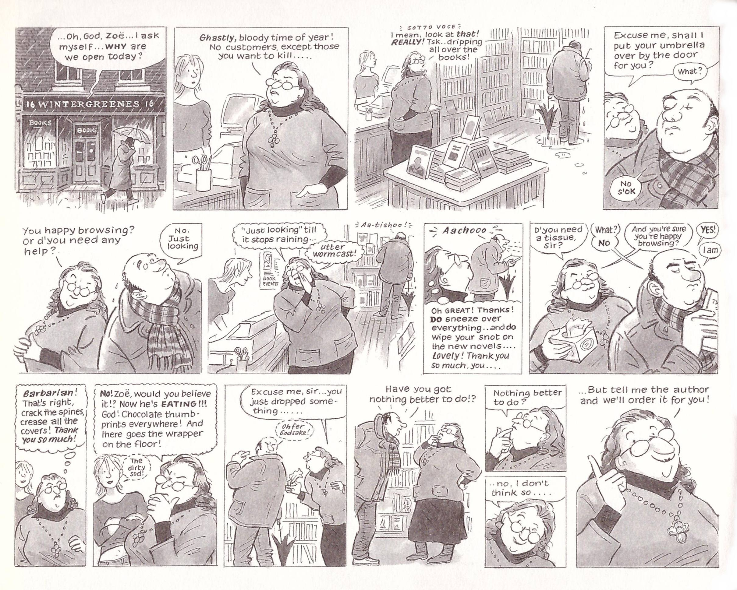 Literary Life graphic novel review