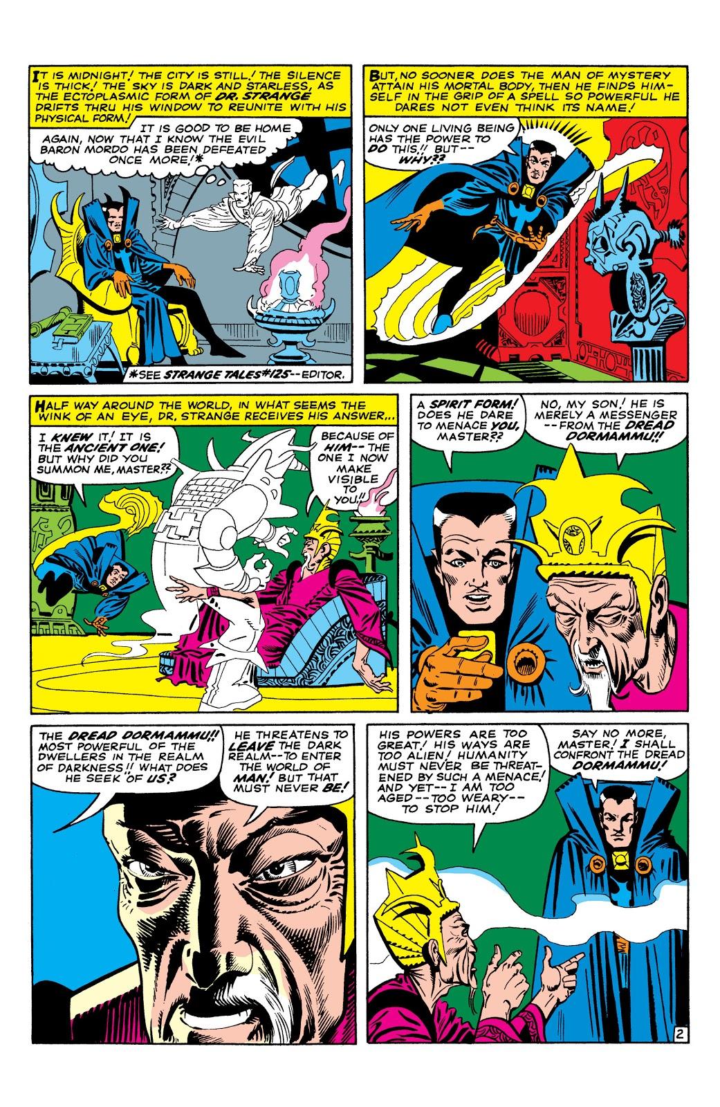 Marvel Masterworks Doctor Strange Vol 1 review