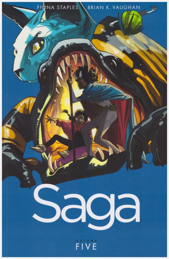 Saga Volume Five