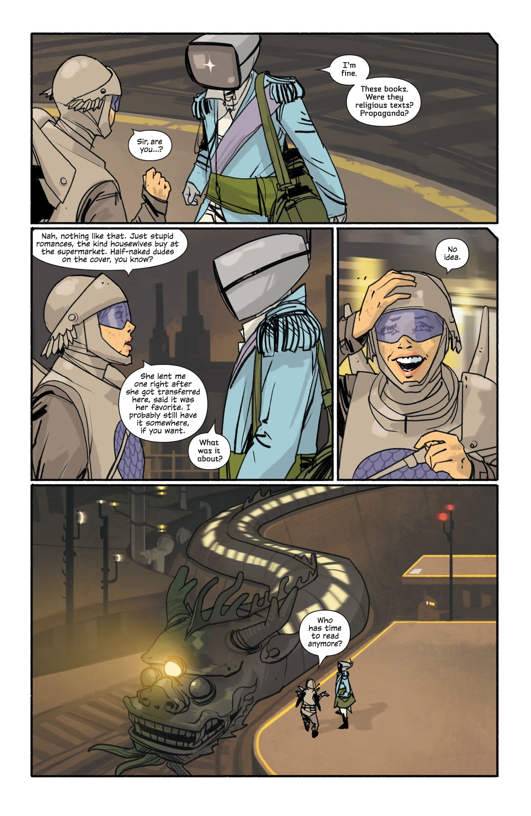 Saga Deluxe Book one review