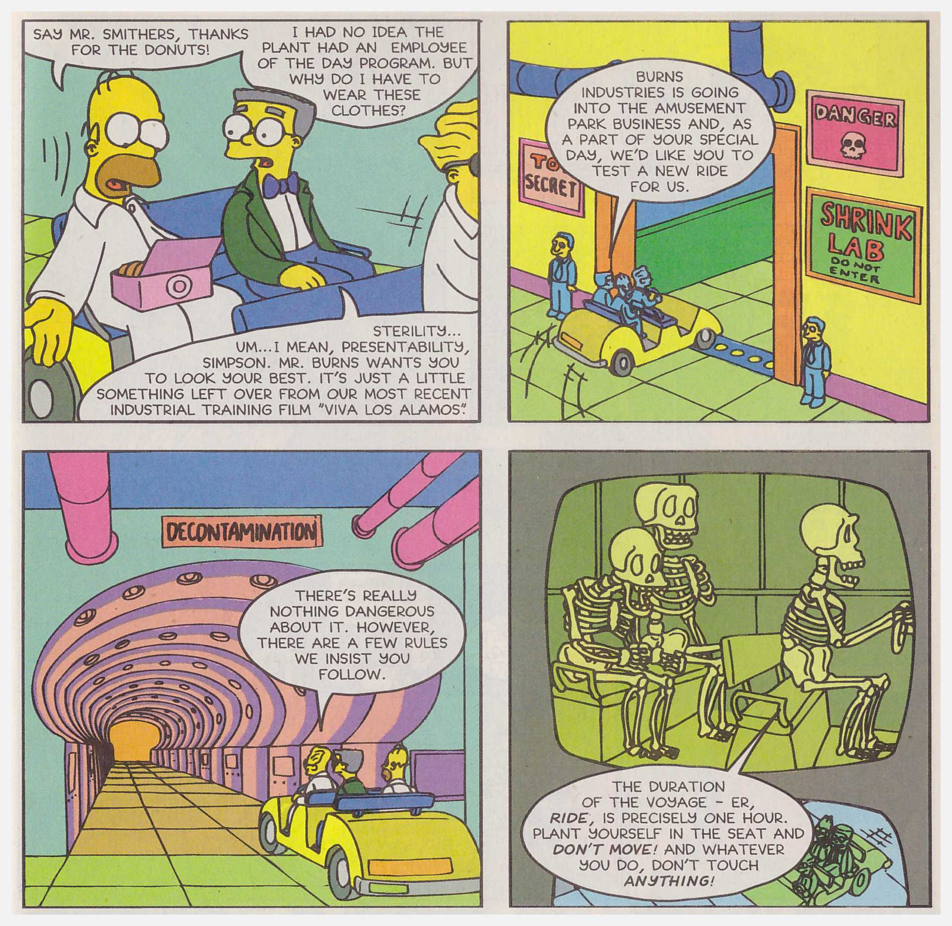 Simpsons Comics Spectacular review