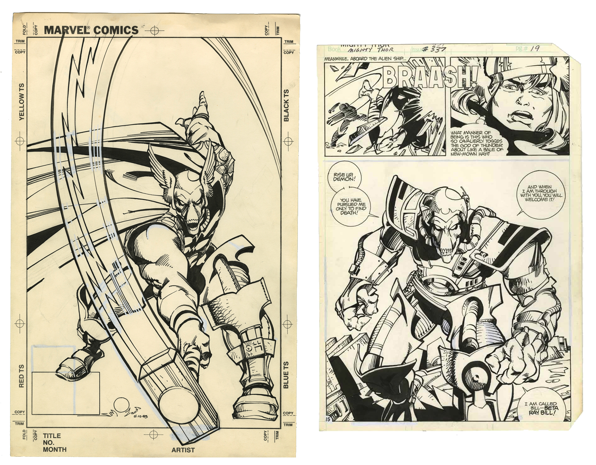 Walter Simonson's The Mighty Thor Artist's Edition review