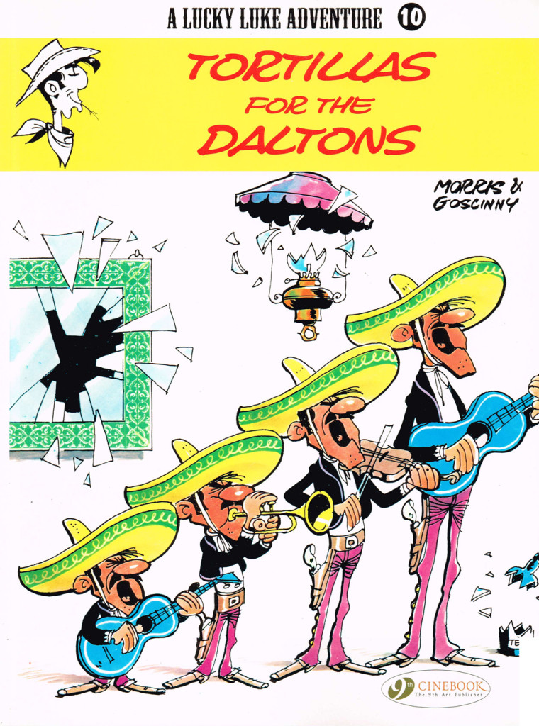 Lucky Luke: Tortillas for the Daltons