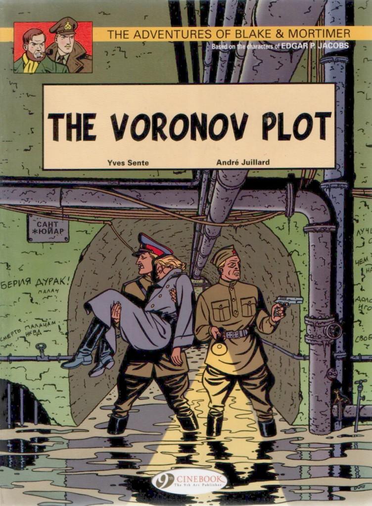 The Adventures of Blake & Mortimer: The Voronov Plot