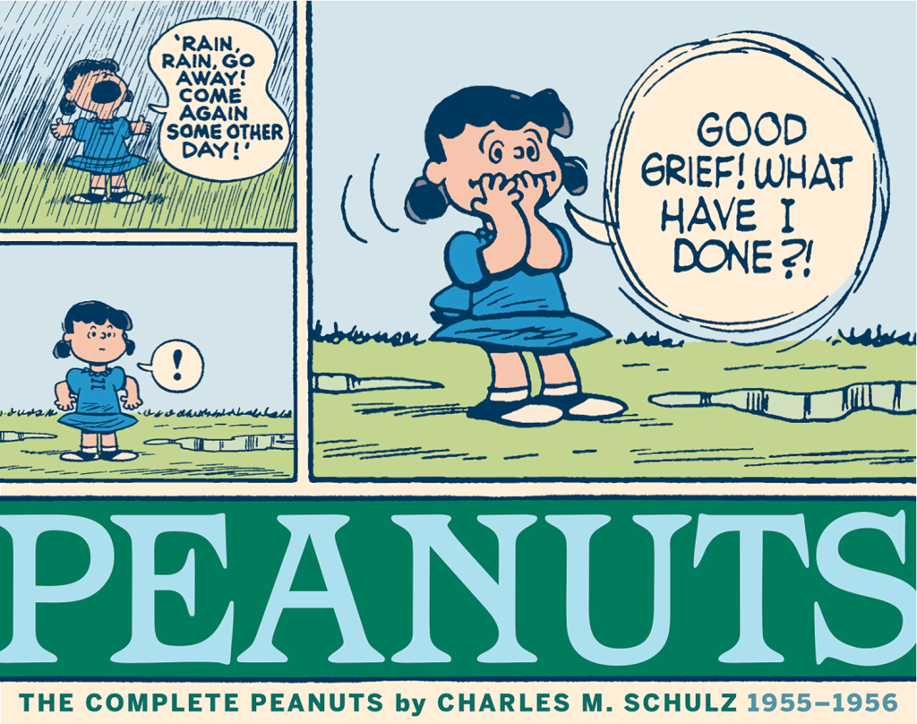 The Complete Peanuts 1955-1956 Paperback Edition (Vol. 3)