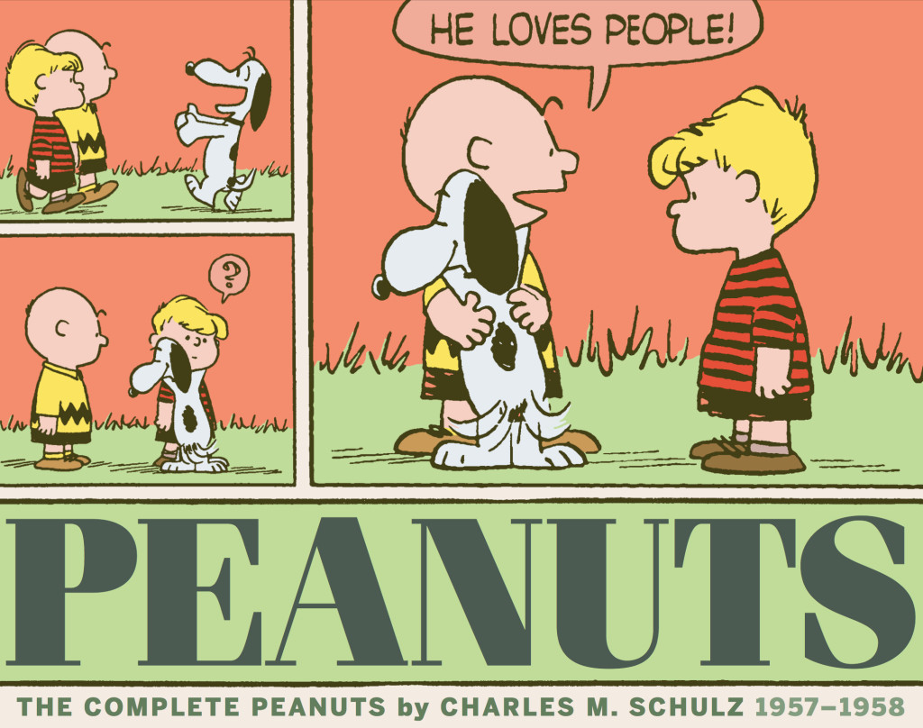 The Complete Peanuts 1957-1958 Paperback Edition (Vol. 4)