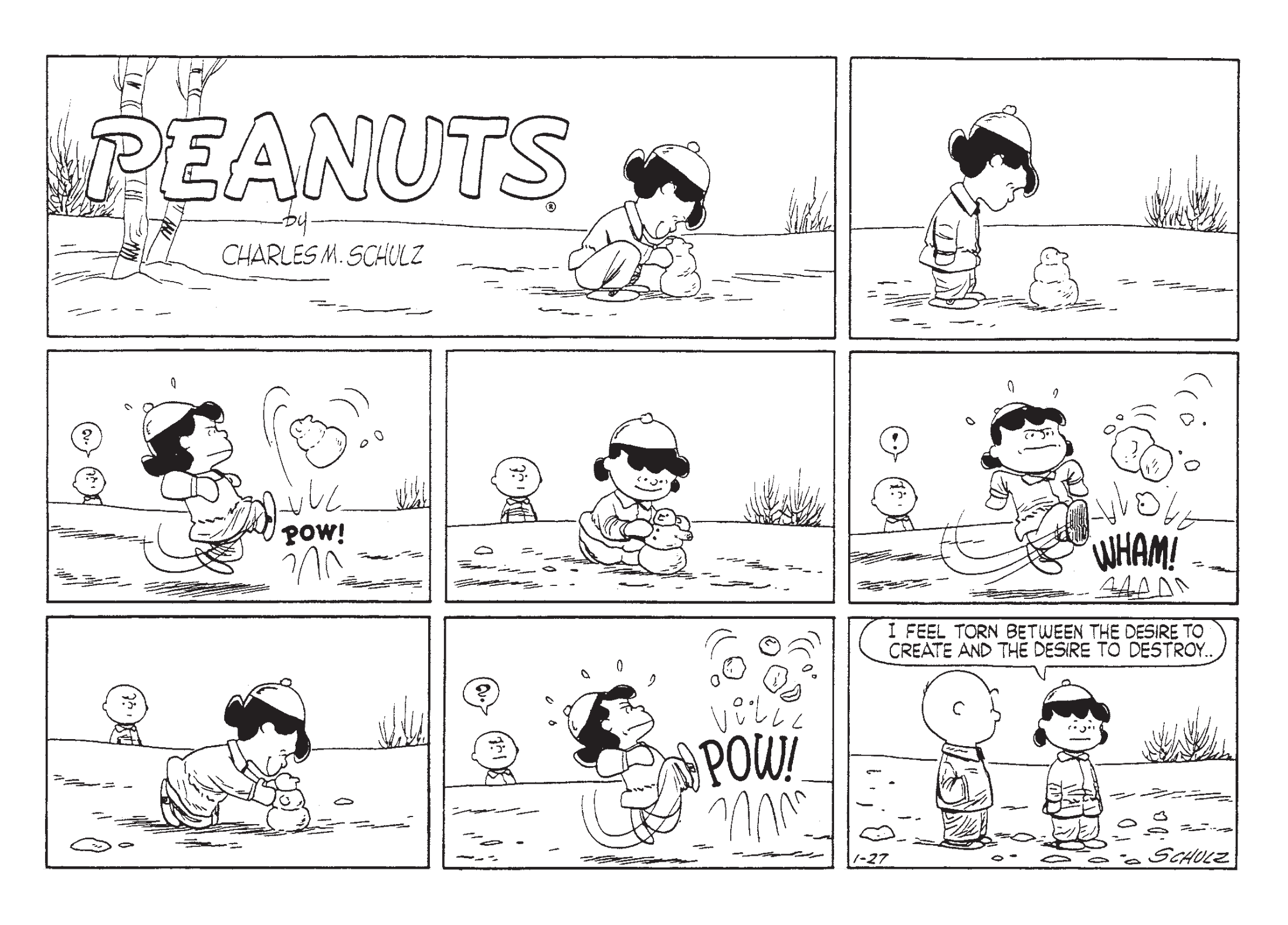 Complete Peanuts 1955 review