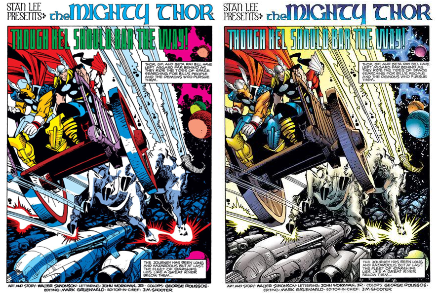 Thor by Walter Simonson volume 1 review