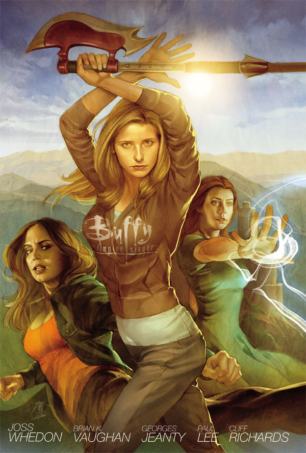 Buffy the Vampire Slayer Season 8 Library Edition, Volume 1