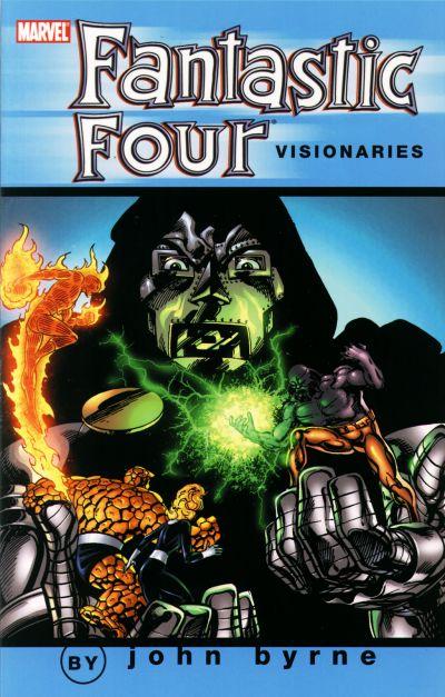 Fantastic Four Visionaries by John Byrne Volume 4