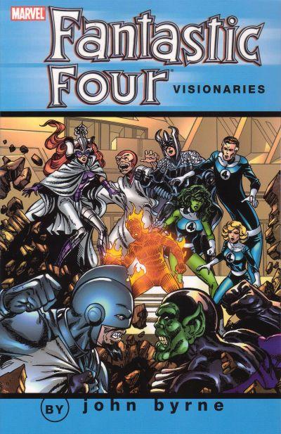 Fantastic Four Visionaries by John Byrne Volume 5