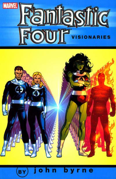 Fantastic Four Visionaries by John Byrne Volume 6