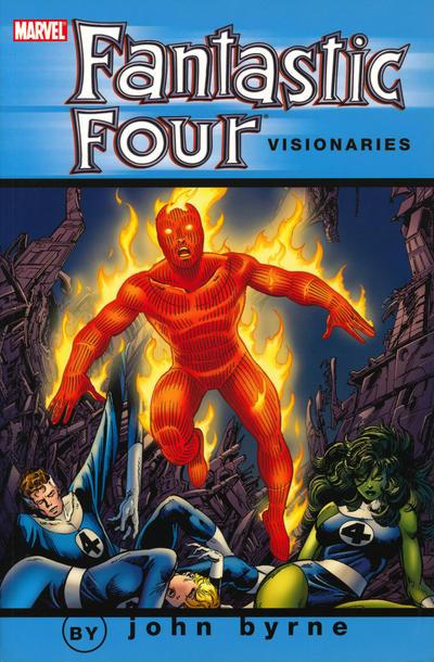 Fantastic Four Visionaries by John Byrne Volume 8