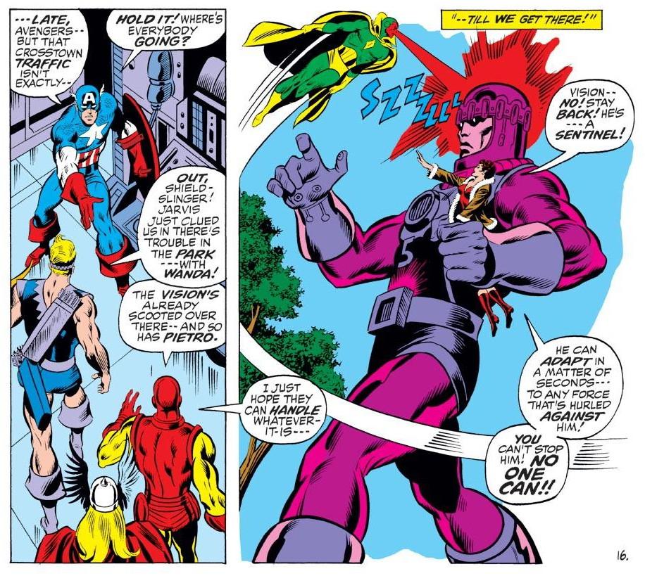 Marvel Masterworks The Avengers vol 11 review