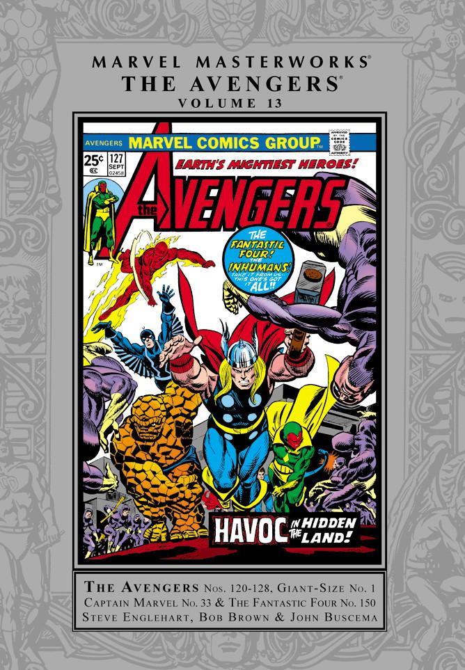 Marvel Masterworks: The Avengers Volume 13
